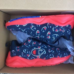 New Champion Big C Sneakers 6.5Y Navy Blue